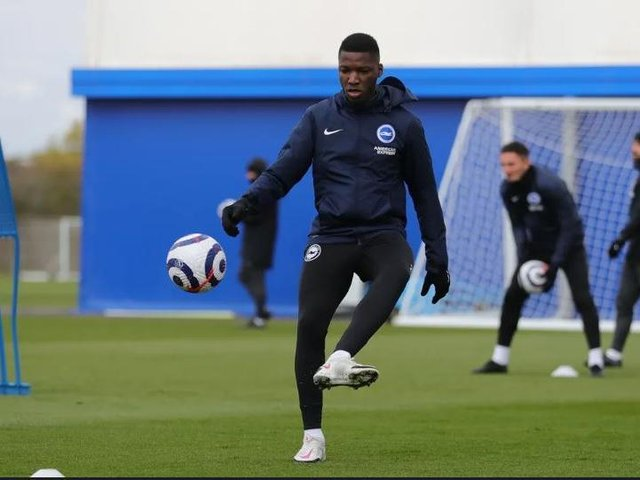Moises Caicedo has impressed the Brighton management team since his arrival from Ecuador last January
