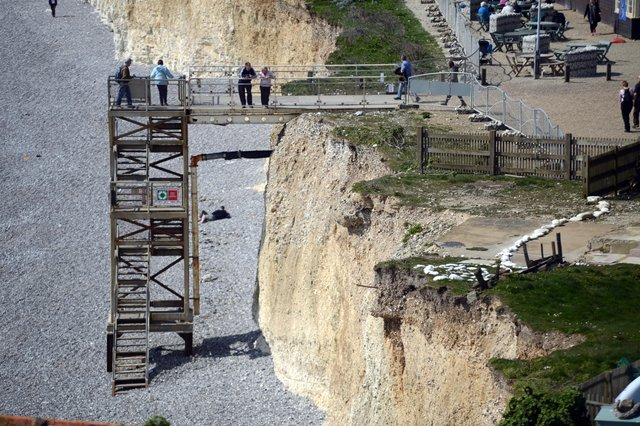 Birling Gap steps SUS-140205-123233001