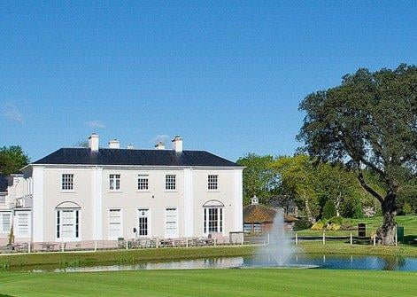 When Ham Manor was converted into a golf course, the Gratwicke's beautiful home became the clubhouse