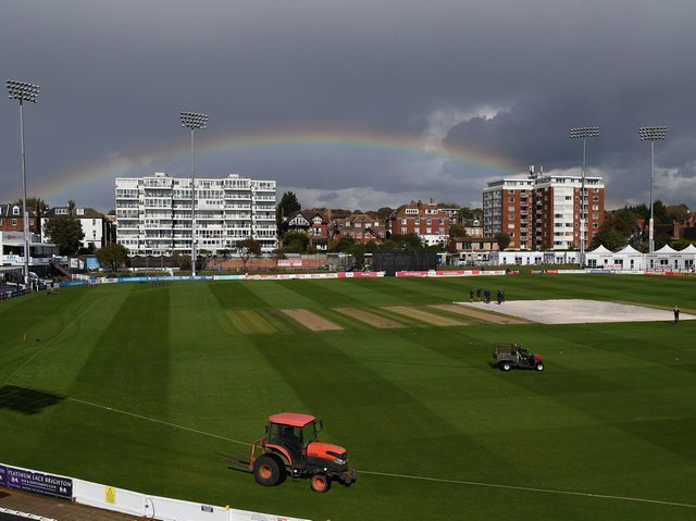 Sussex Sharks' T20 tour match against Sri Lanka scheduled to take place at The 1st Central County Ground on Sunday, June 20 has been cancelled. Picture by Mike Hewitt/Getty Images
