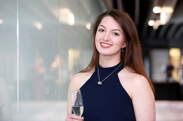 Isabella Raccagna, who was named young chef of 2019 - the first woman to win the category in the history of the awards. Photograph: Southern News & Pictures