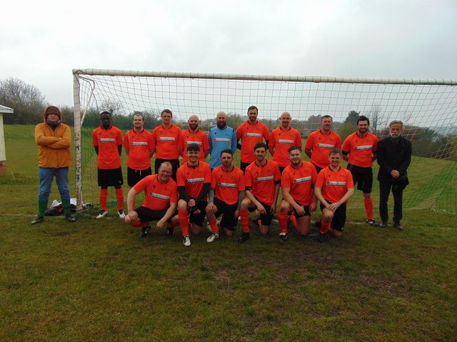The JC Tackleway sporting newly sponsored shirts