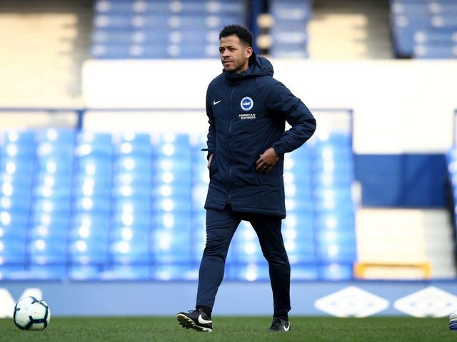 Former Brighton defender Liam Rosenior is currently Wayne Roomey's assistant at Derby County