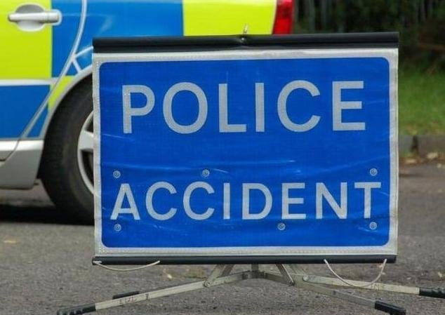 A collision on the M23 is causing delays this morning