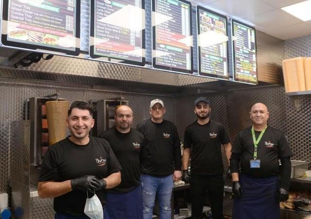 The team at Bursa Kebab in Newhaven