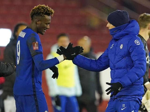 Tammy Abraham has founds his first team chances limited since the arrival of Thomas Tuchel