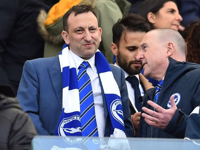 Brighton chairman Tony Bloom and chief executive Paul Barber are totally against the European Super League