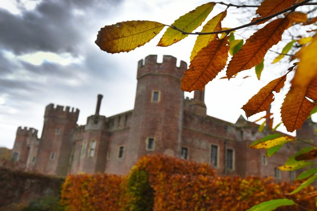 Herstmonceux Castle. Picture by Justin Lycett