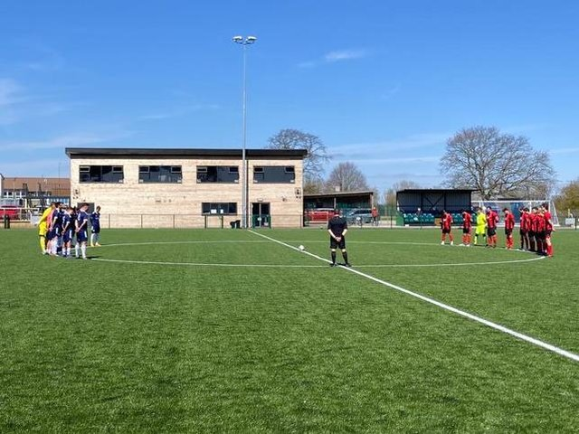 A minute's silence at the home of Ringmer AFC