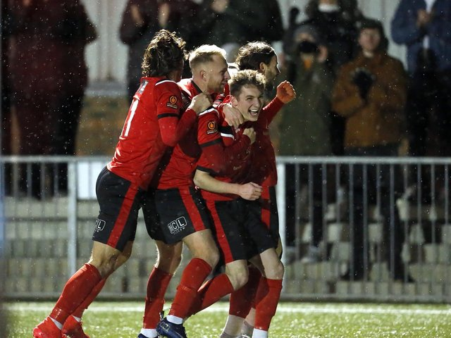 Eastbourne Borough - a community club that could not be further removed from the sort of football that was planned in the European Super League / Picture: Andy Pelling