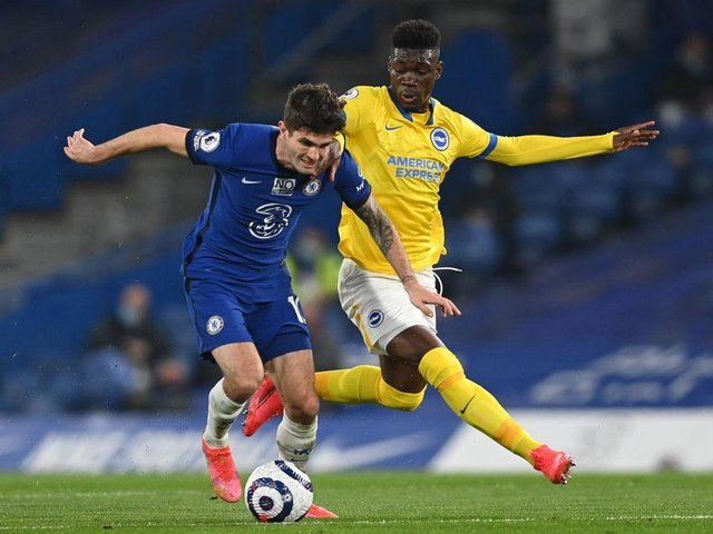 Chelsea continue to battle for a Champions League spot after their 0-0 draw against Brighton at Stamford Bridge on Tuesday