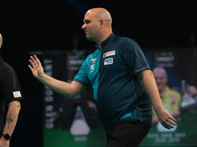 Rob Cross is out of the Premier League / Picture: Lawrence Lustig - PDC