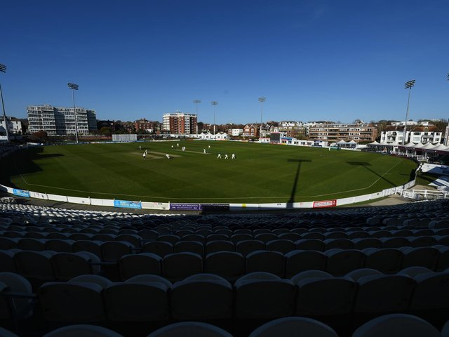 All that was missing was a crowd on a lovely day for cricket at Hove / Picture: Getty