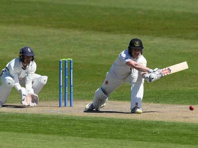 Ben Brown at the crease against Yorkshire / Picture: Getty
