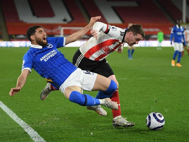 Brighton could not find a way past a determined Sheffield United defence at Bramall Lane on Saturday night