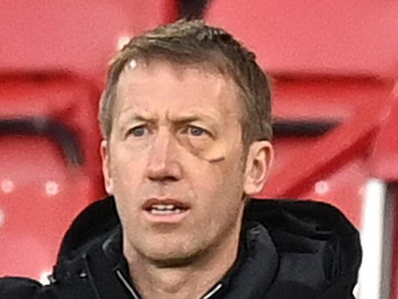 Graham Potter said Brighton will keep scrapping to stay in the Premier League after defeat at Sheffield United