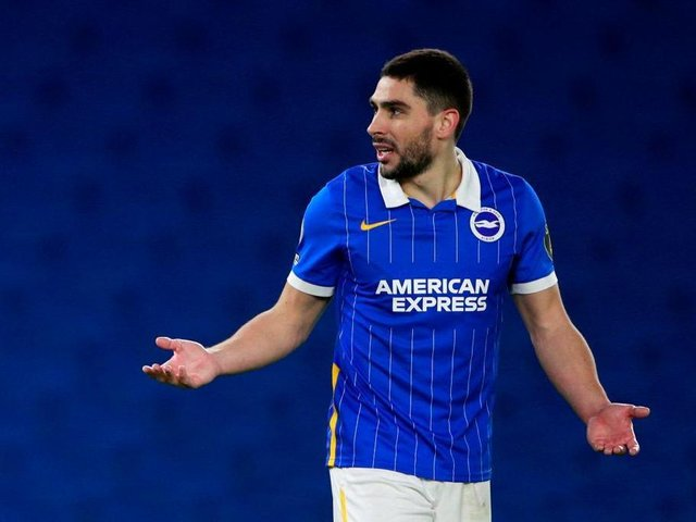 The best of Brighton's chances fell to Neal Maupay during their 1-0 loss at Sheffield United last night