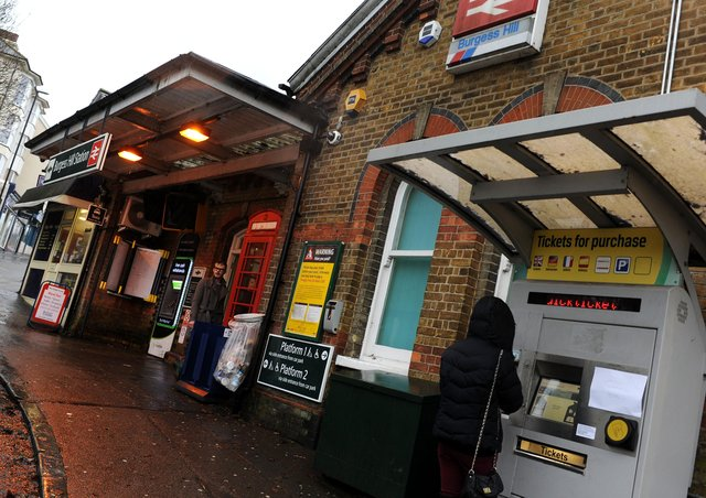 Burgess Hill station. Picture by Steve Robards