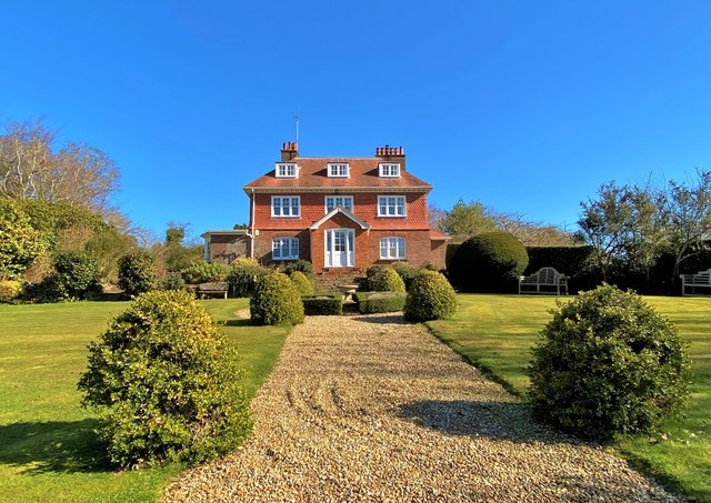 On sale: Perryfield House, in Udimore, near Rye, is on sale for the first time in more than 20 years. Photograph: Anderson Hacking
