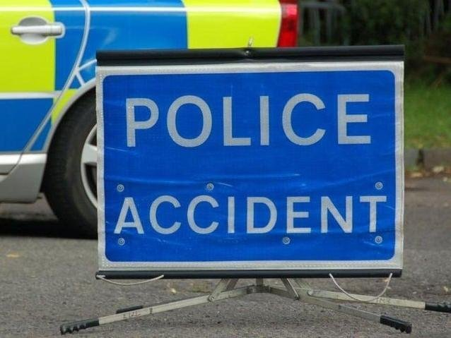 Two people were taken to hospital after a collision in Uckfield