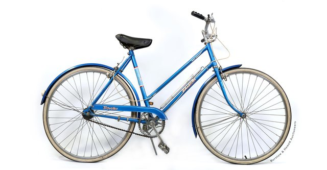 The bike up for auction. Picture from Burstow & Hewett SUS-210428-102451001