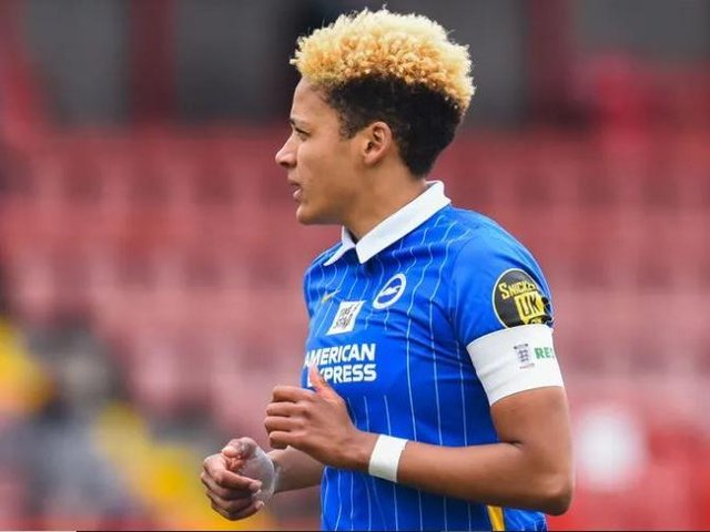 Brighton captain Victoria Williams has previous spoken about the racist abuse she suffered as a child