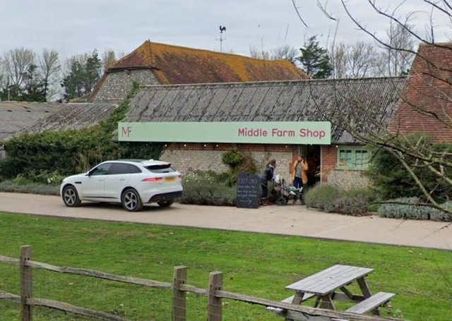 Readers named Middle Farm Shop, in Firle, as one of their favourites. Photograph: Google Maps