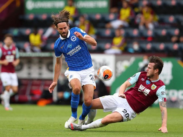 Brighton midfielder Davy Propper has been linked with a move back to Holland this summer