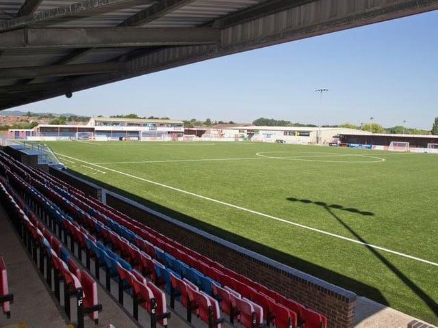Priory Lane will host Eastbourne Borough U23 games next season