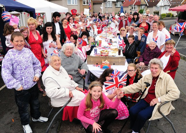 Street party, Bexleigh Avenue, Bexhill Picture by: Tony Coombes Photography
