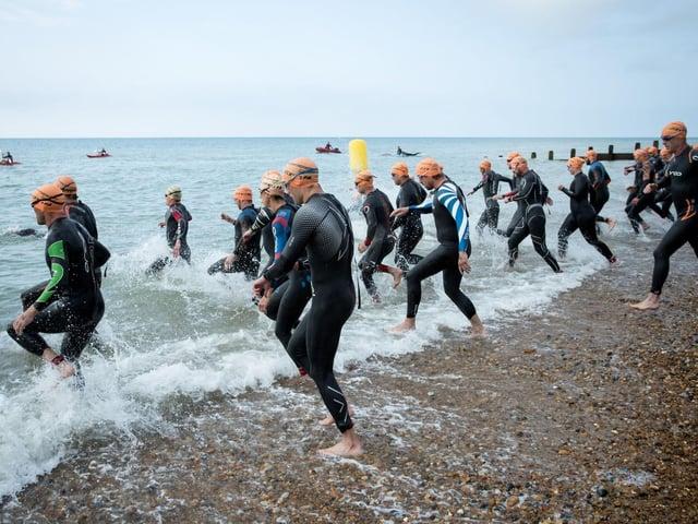 The Eastbourne Triathlon has grown into a popular and prestigious event