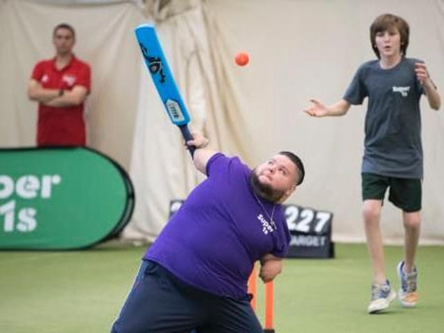 The Super 1s disability cricket programme is being launched in every county
