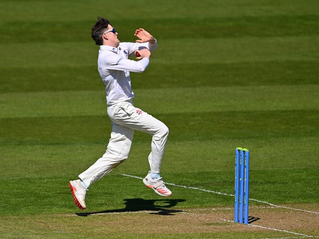 Jack Carson continued his fine start to Sussex's season with four wickets to peg back Lancashire / Picture: Gtetty