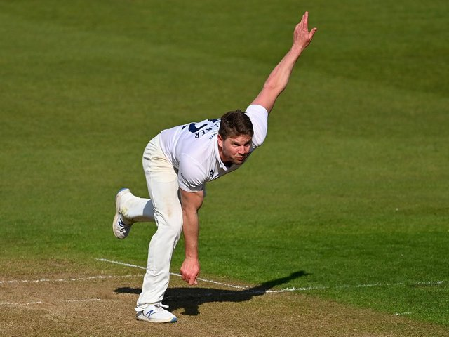 Stuart Meaker struck to give Sussex hope / Picture: Getty