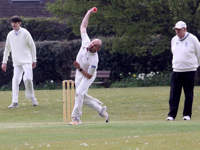 Newick host Three Bridges seconds in the Sussex League T20 Cup / Picture; Ron Hill