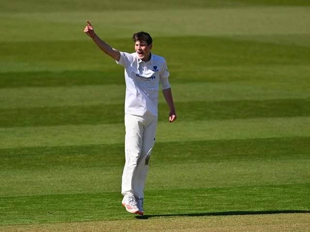 Sussex's Henry Crocombe / Picture: Getty
