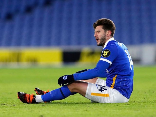 Adam Lallana is struggling with a calf injury sustained during the 1-0 loss at Sheffield United