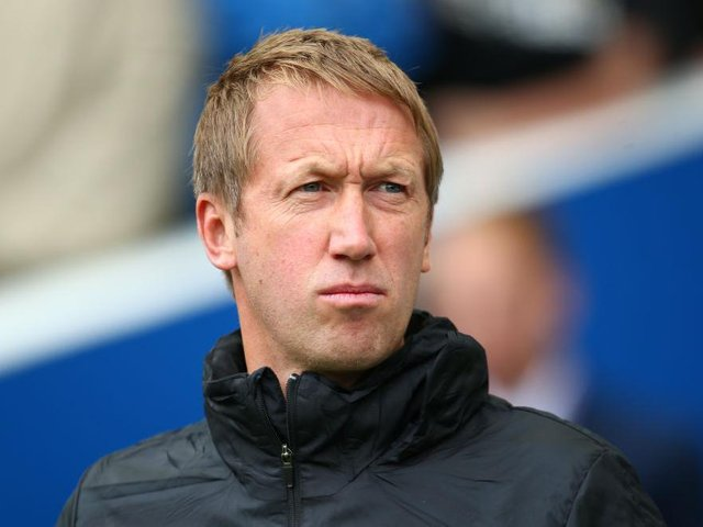 Graham Potter is the bookies favourite to be the next manager at Tottenham