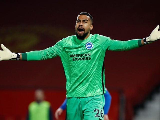 Brighton goalkeeper Robert Sanchez has kept 11 clean sheets this season