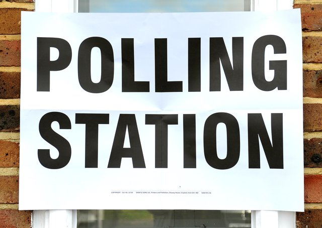 Local elections are being held today (Thursday May 6)