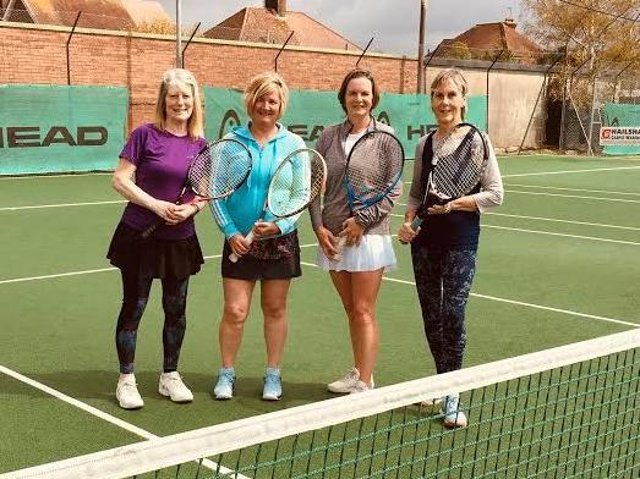 Hailsham ladies are happy to be back on court