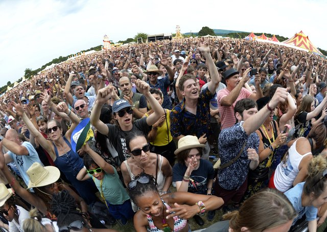 Crowds at Love Supreme in 2018. Photo by Jon Rigby