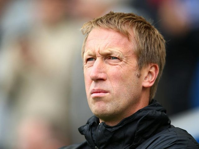 Graham Potter has impressed at Brighton this season