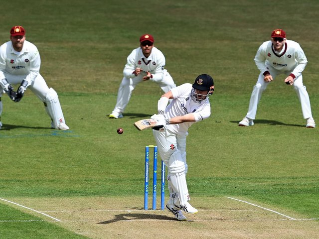 Travis Head gets one away on his Sussex debut