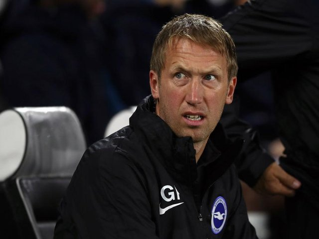 Graham Potter has been linked with a move to Tottenham having impressed this season at Brighton