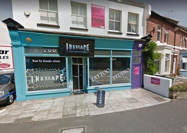 Readers named Inkscape, in Bexhill, among their favourite tattoo studios in East Sussex. Photograph: Google Maps