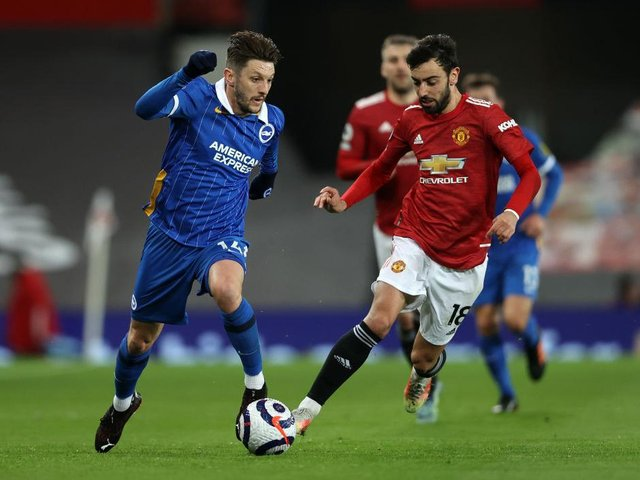 Adam Lallana is struggling with a calf injury ahead of this weekend