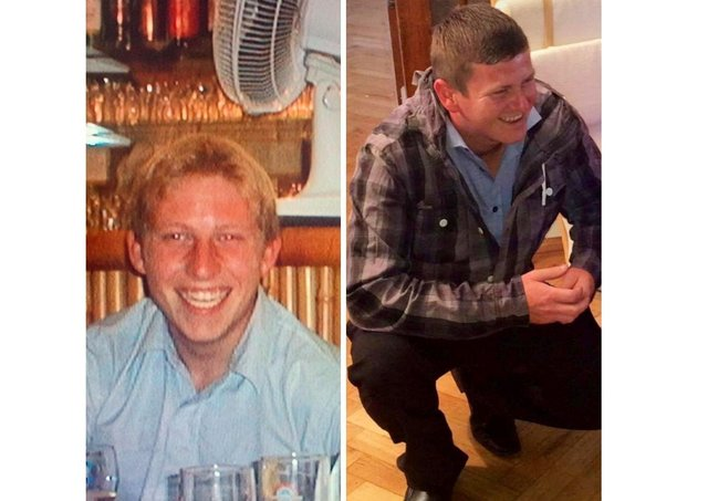 Tributes have been paid to Dean Bridger and Darren Grant SUS-210705-175851001