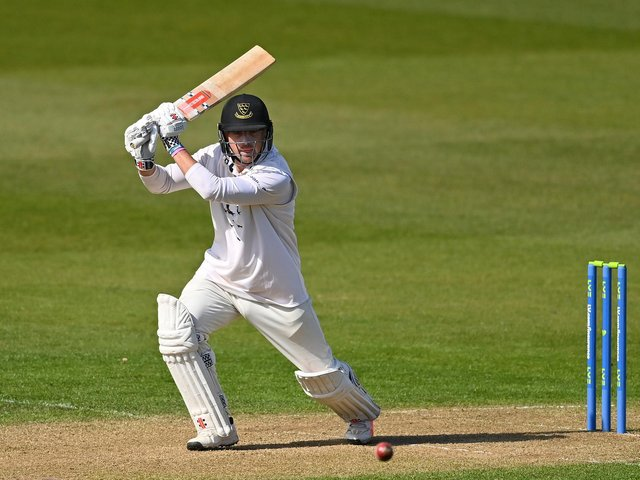 Stiaan van Zyl's knock of 71 couldn't save Sussex from an innings defeat / Picture: Getty