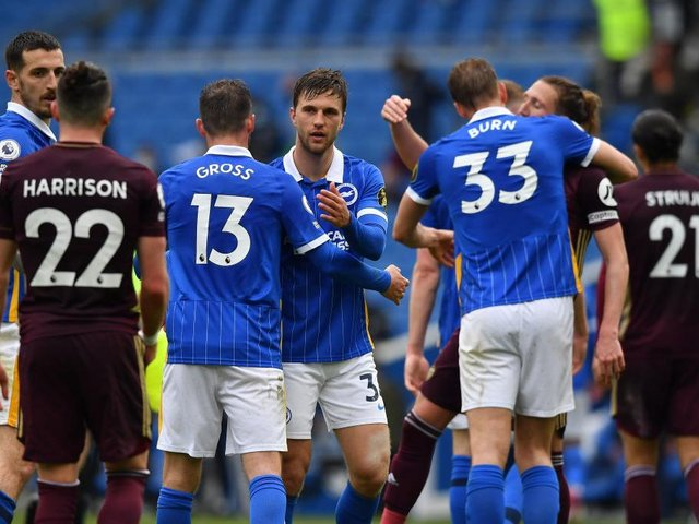 The fitness of Brighton defender Joel Veltman is a concern ahead of West Ham